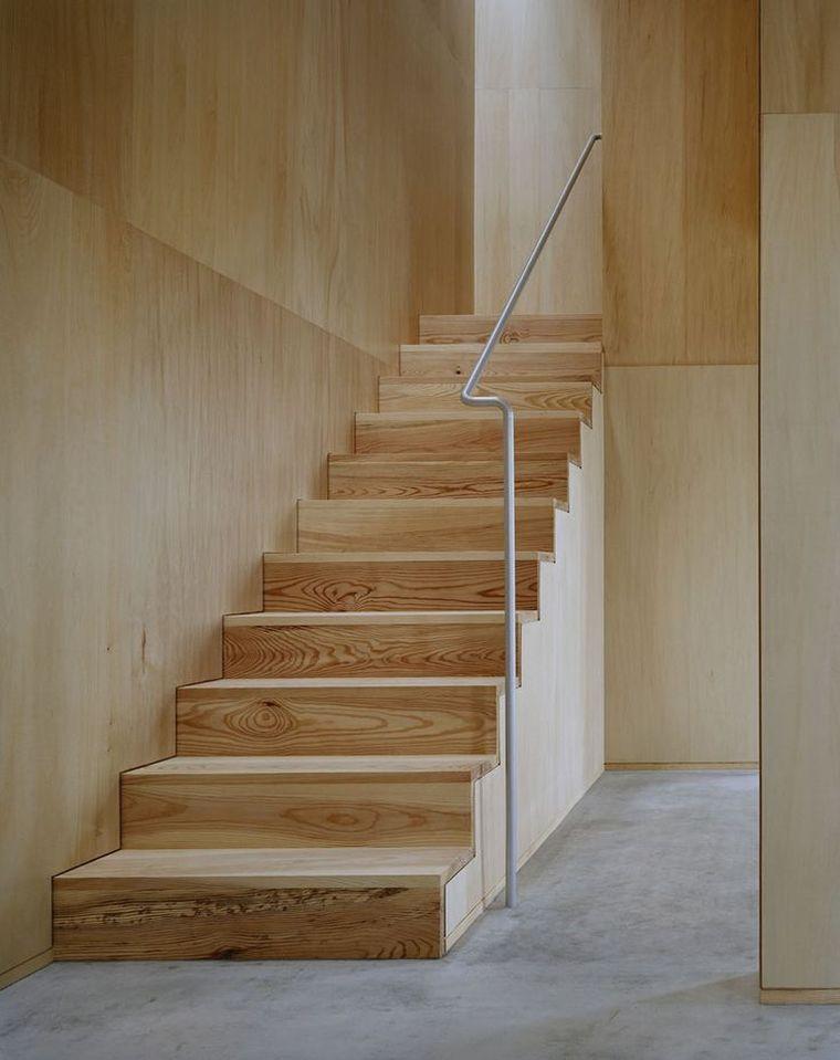 Fabriquer un escalier en bois int rieur ou ext rieur fiche infos pratiques escaliers - Escalier bois interieur ...
