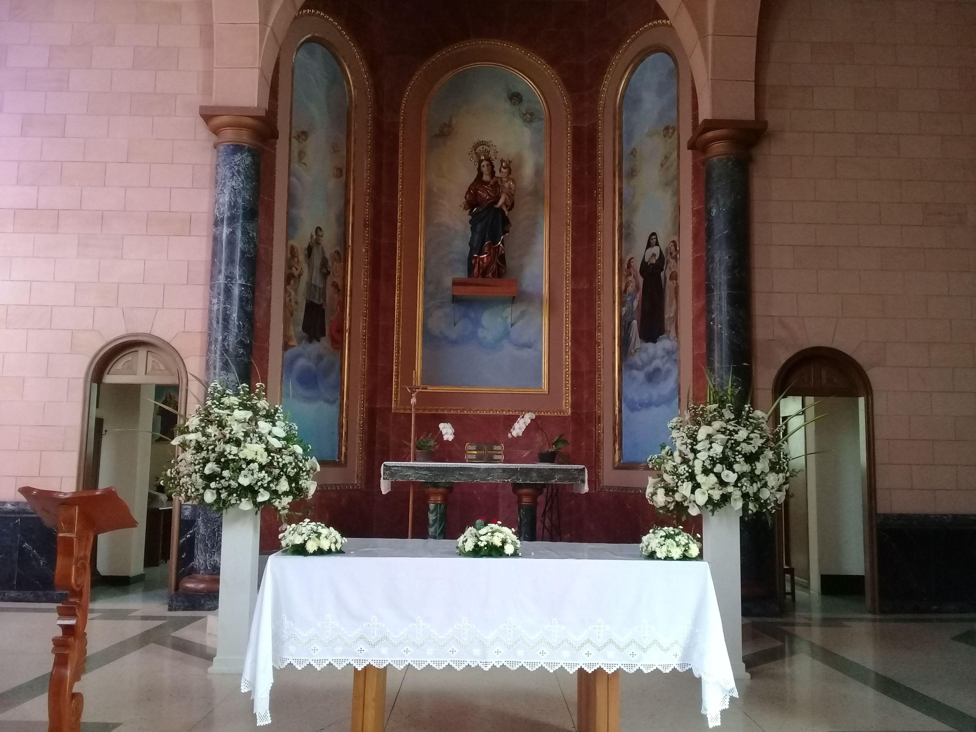 Capilla Provincial Colegio Maria Auxiliadora Hermosos Ramos