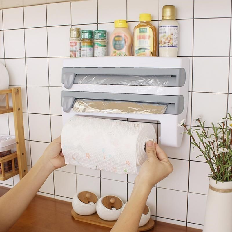 Photo of 4in1 Kitchen Roll, Film and Paper Holders
