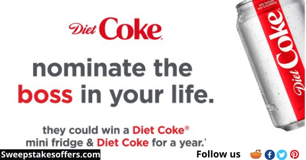 Diet Coke National Boss S Day Sweepstakes National Bosses Day Diet Coke Sweepstakes