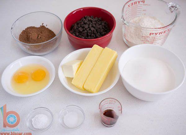 طريقة عمل الكوكيز بالشوكولاته