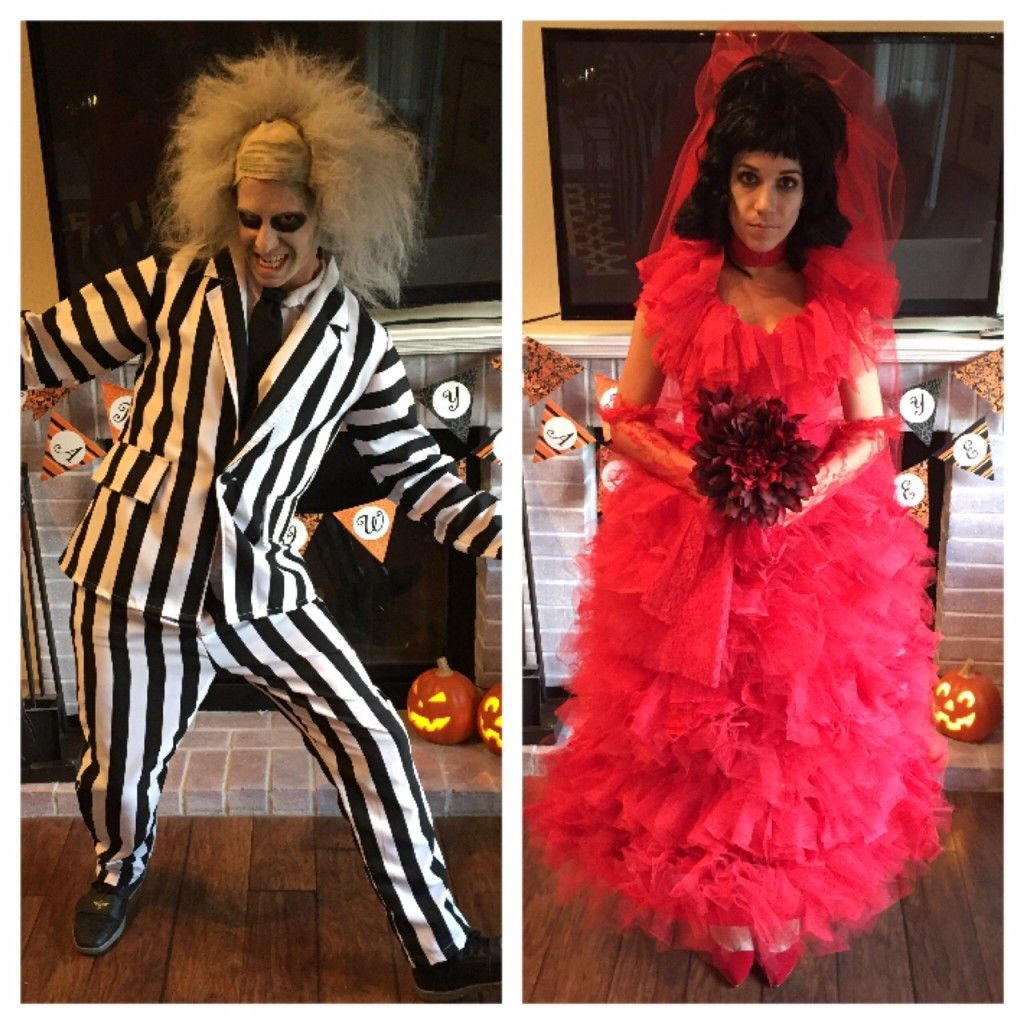 DIY Beetlejuice Costumes Lydia Deetz Costume