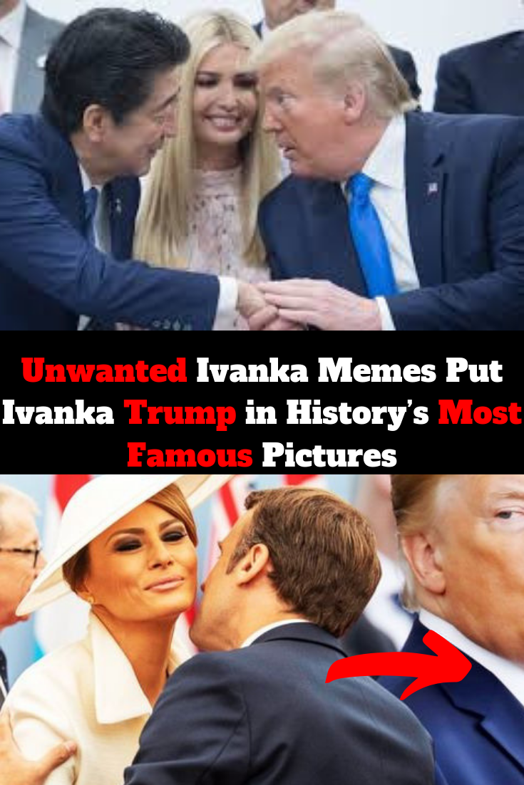 Unwanted Ivanka Memes Put Ivanka Trump In History S Most Famous Pictures Famous Pictures Daily Funny Amazing Pics