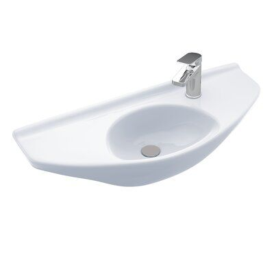 Toto Vitreous China 30 Wall Mounted Bathroom Sink Sink Finish