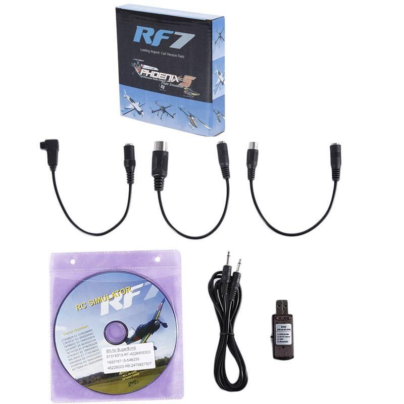 22 in 1 RC Flight Simulator Cable for G7 Phoenix 5.0 Aerofly XTR VRC