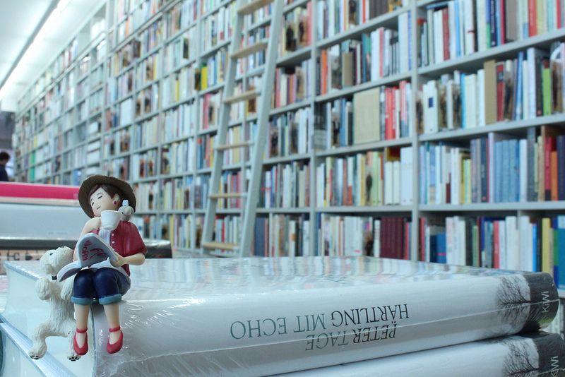 Fuchiko san, a bookworm 本の虫のフチ子さん