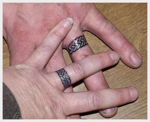 Wedding Ring Tattoos For Men Designs 18450: 35 pictures about ...