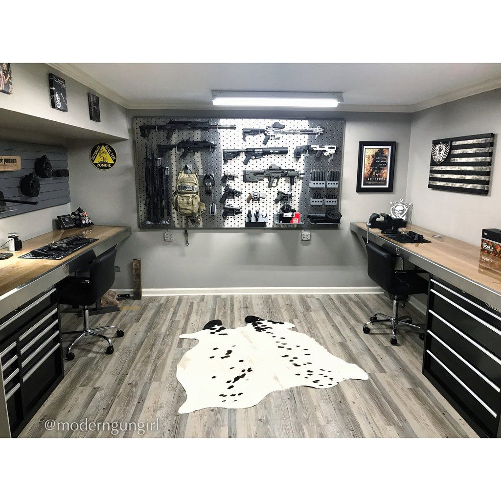 Home Garage Design Ideas: Building A Dream Gun Room At Home In 2019