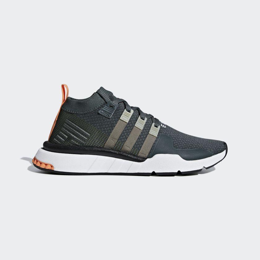 EQT Support Mid ADV Primeknit Shoes in 2019 | Streetwear