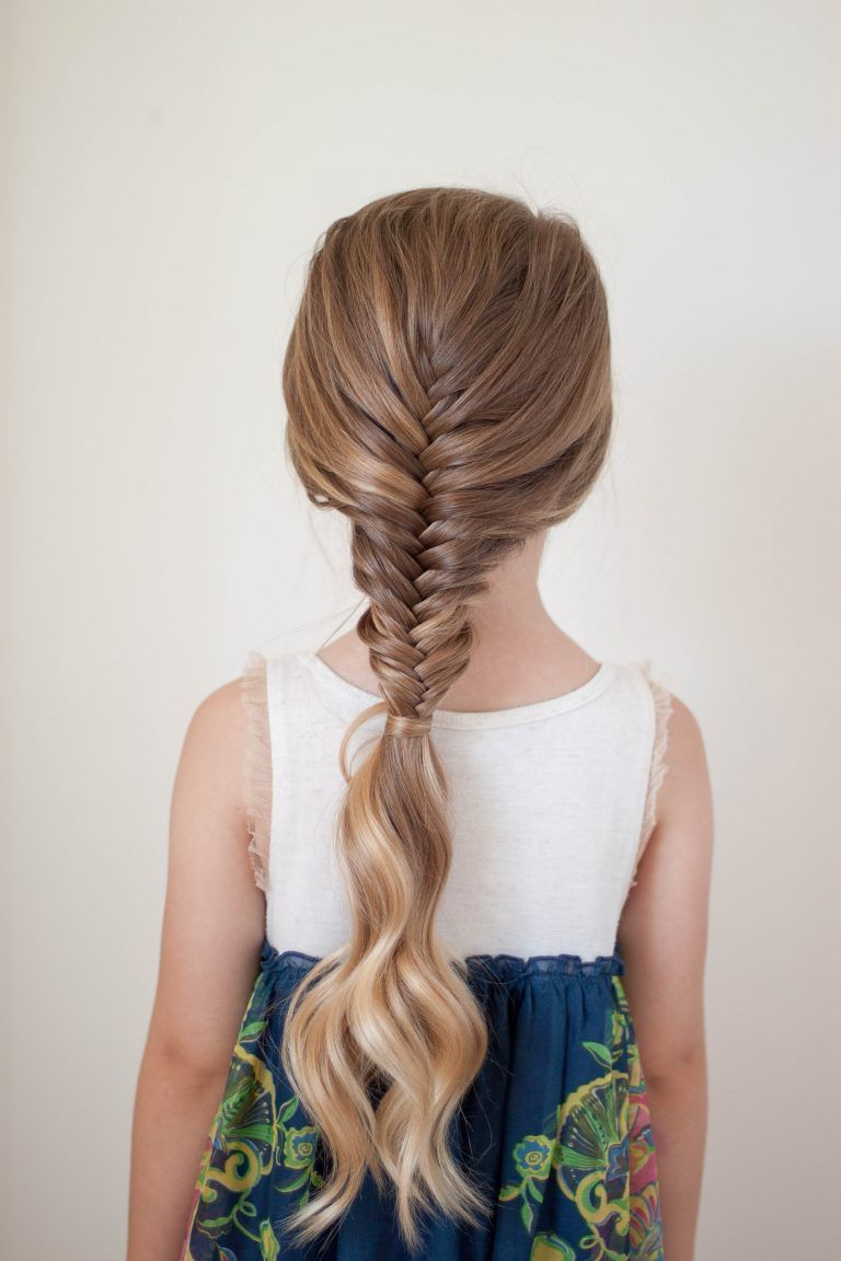 French Fishtail Braid CGH Lifestyle Trenzas, Trenza