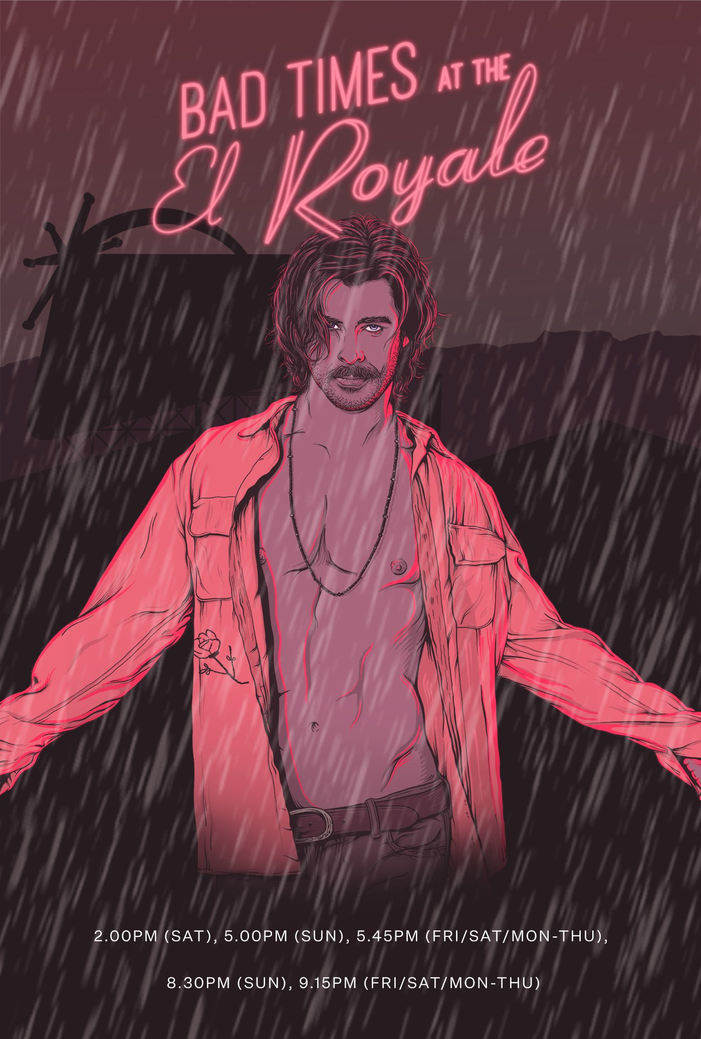 Bad Times At The El Royale In 2020 Bad Timing Alternative Movie