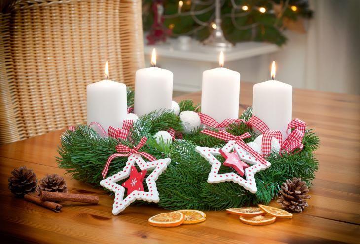 Adventskranz Bilder Kostenlos adventskranz zum selbermachen mit gratis anleitung tannenkranz