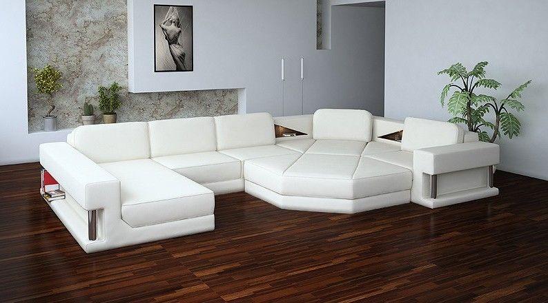 Admirable Hexagon Home Sweet Home White Sectional Sofa Leather Inzonedesignstudio Interior Chair Design Inzonedesignstudiocom