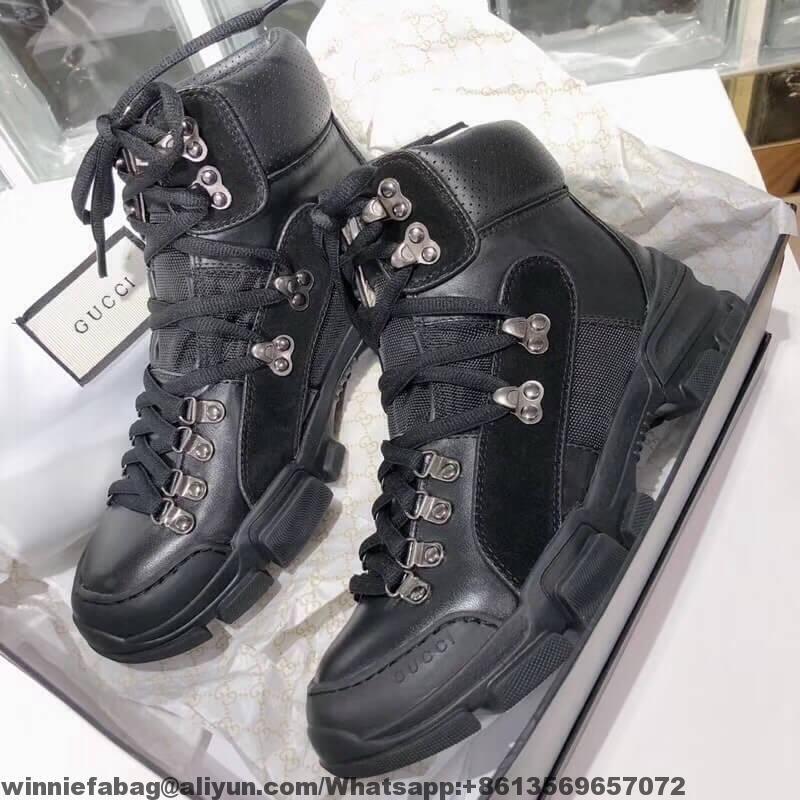 d7c89563cd0 Gucci Flashtrek GG High-top Sneaker 2018