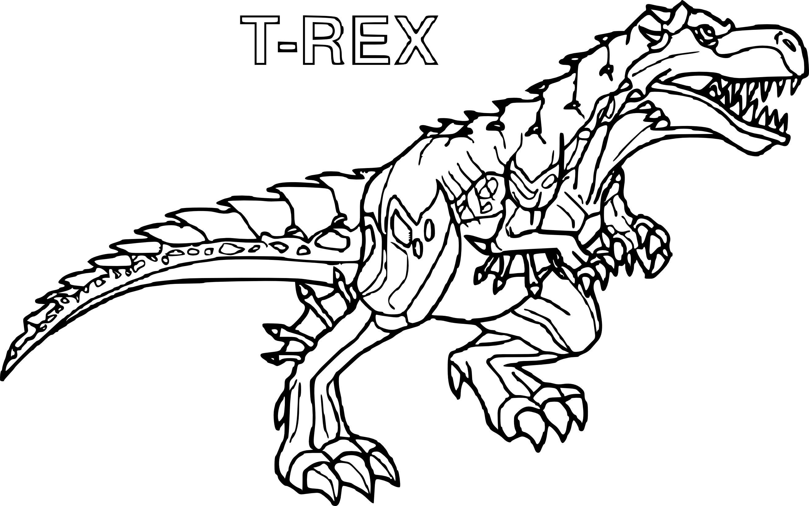 coloriage imprimer dinosaure tyrex from coloriage t rex