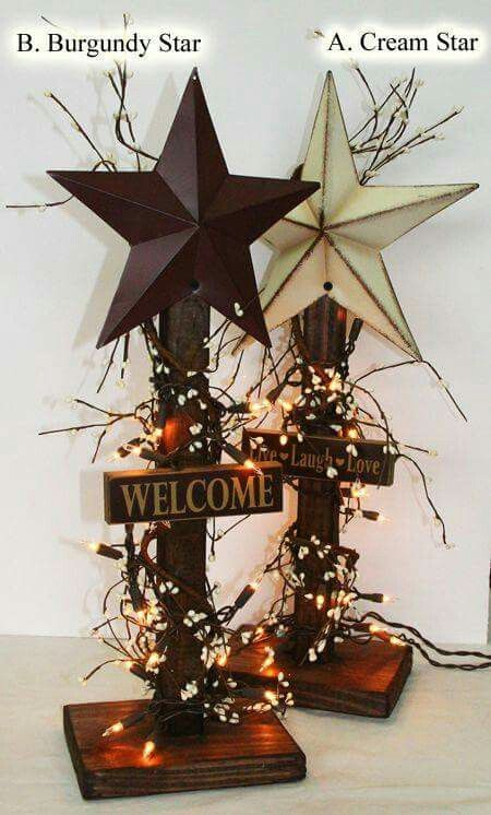 Pin by linda busta on holiday crafts pinterest craft primitives diy with barn stars from primitive star quilt shop solutioingenieria Images