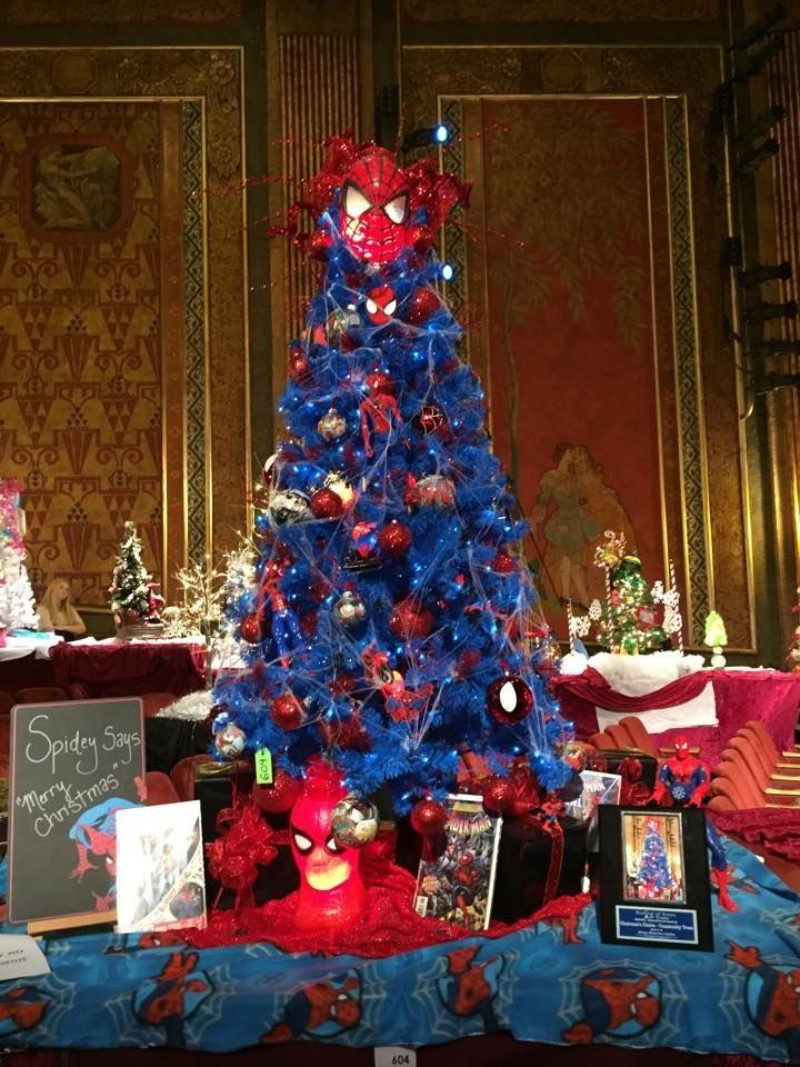 spider man christmas tree - Google Search in 2020 | Unique ...