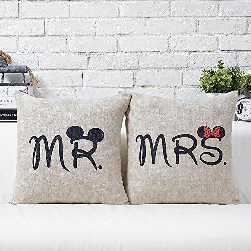 What A Cute Disney Wedding Gift For The Mr And Mrs Who Love Minni