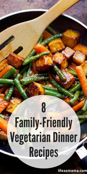 Even if you are still a meat eater, tossing in some vegetarian dishes now and then is good for the body- and your budget. Regular meat-free meals will save you loads in the grocery store, and give you more options too! Everyone in the family will enjoy these recipes.
