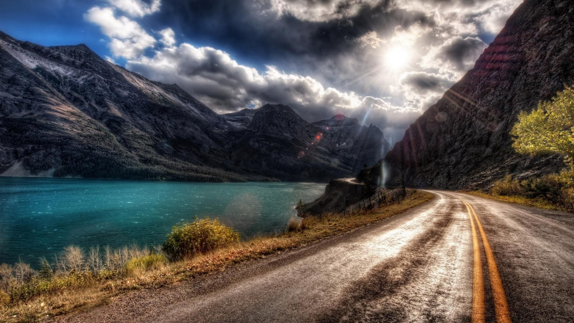 Beautiful Road Hd Wallpapers