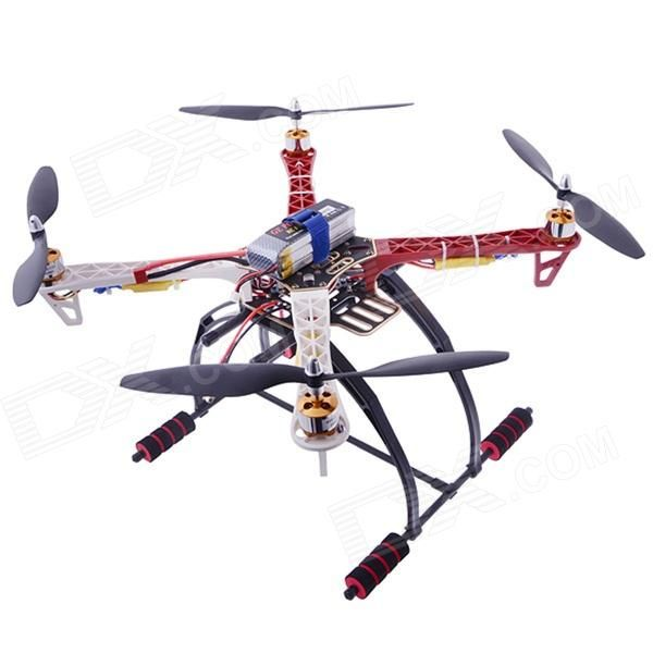 F450 Multicopter Quadcopter Frame + 4-Axis Frame Kit w/ Landing Gear - Black + Red - http://www.dx.com/p/313508?Utm_rid=57726984&Utm_source=affiliate