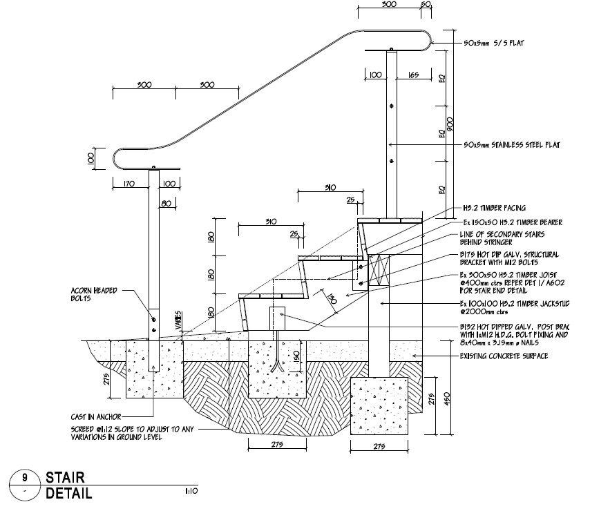 Best Stair Construction Details Drawings Http Www Woodesigner 400 x 300