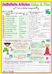 english worksheet definite indefinite articles a an the or zero article educaci n. Black Bedroom Furniture Sets. Home Design Ideas