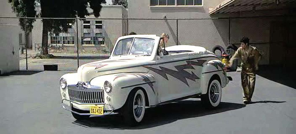 1948 ford de luxe grease cars movie famous movie