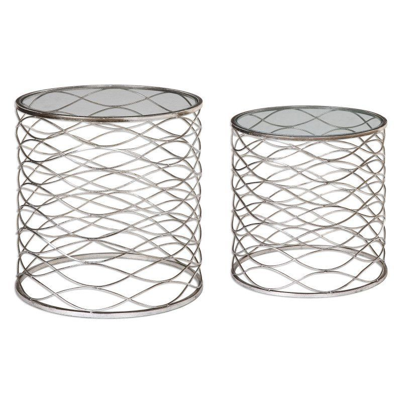 Uttermost Aida Cage Accent Tables - Set of 2 - 24628