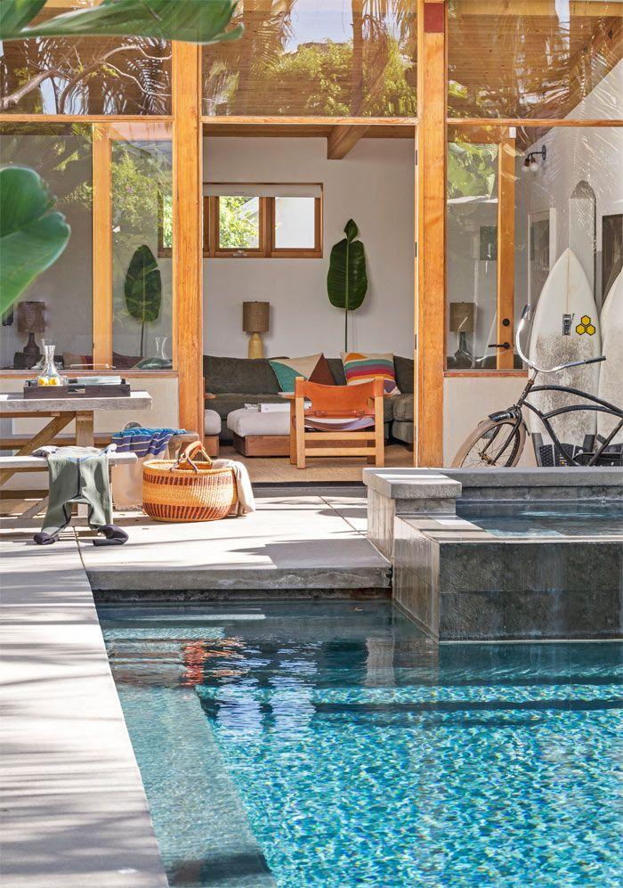 Una casa moderna y tranquila en california a modern home for Casa moderna vintage