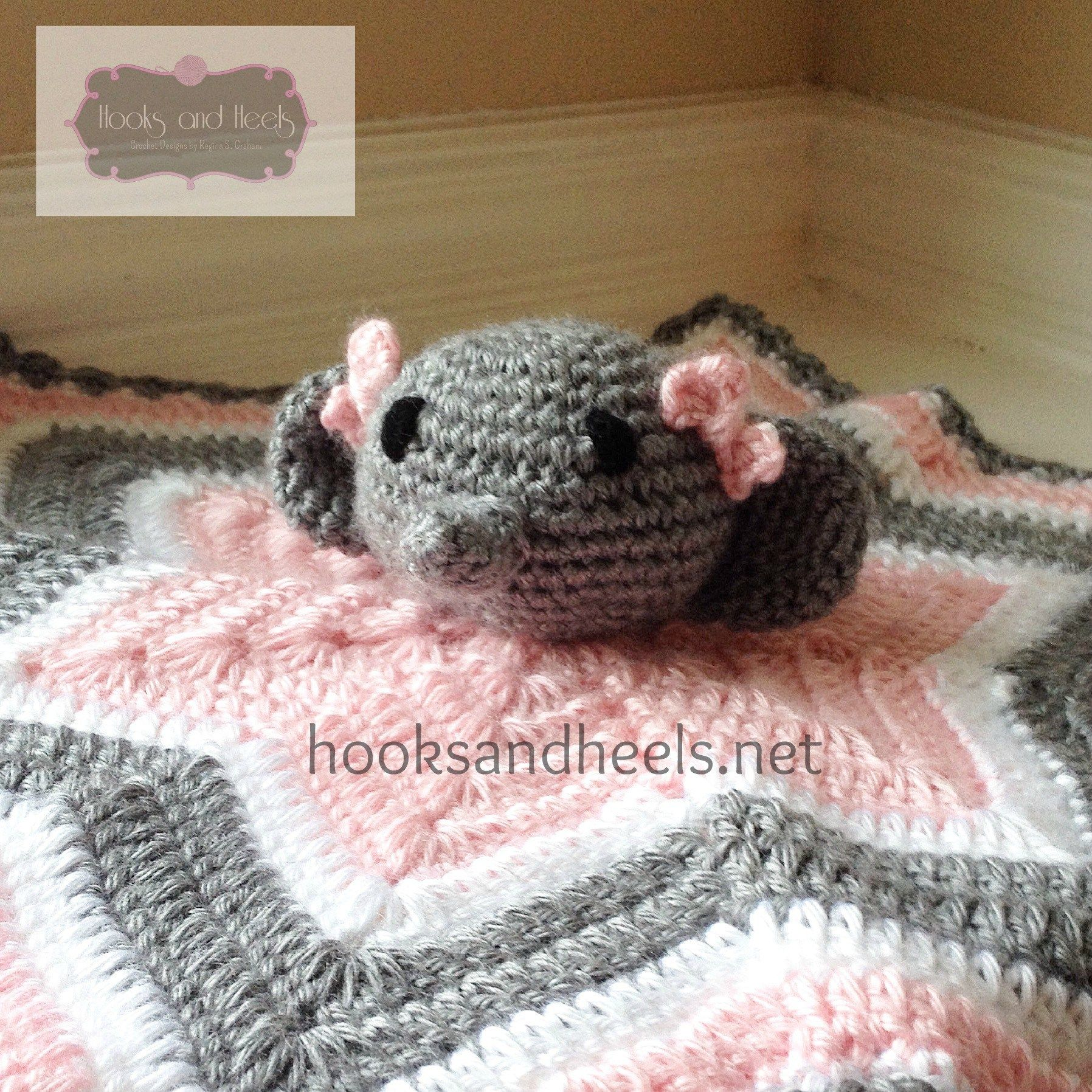 Chevron Elephant Lovey | Amiguris mantitas | Pinterest | Manta y ...