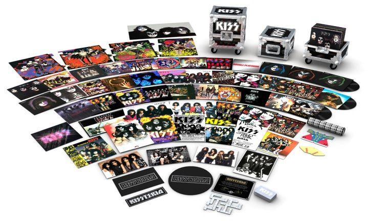 Kissteria Vinyl Box Set Vinyl Records For Sale Vinyl Records Boxset