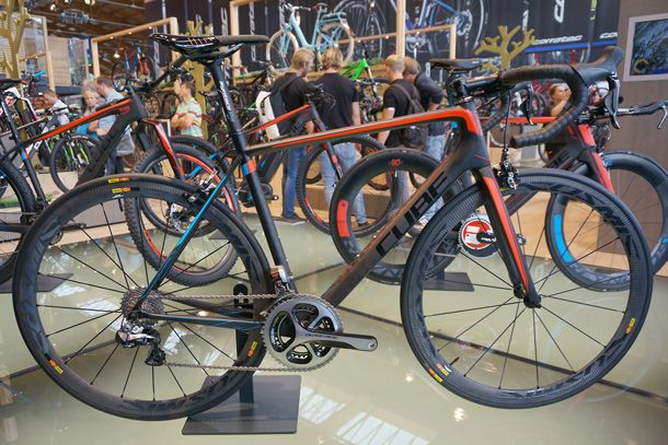 Cube Litening C68 Slt With Dura Ace Di2 And Mavic C40 Wheels At Eurobike 2017