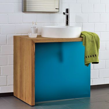 Holz-Waschtisch Pinterest Diy bathroom furniture, Bathroom