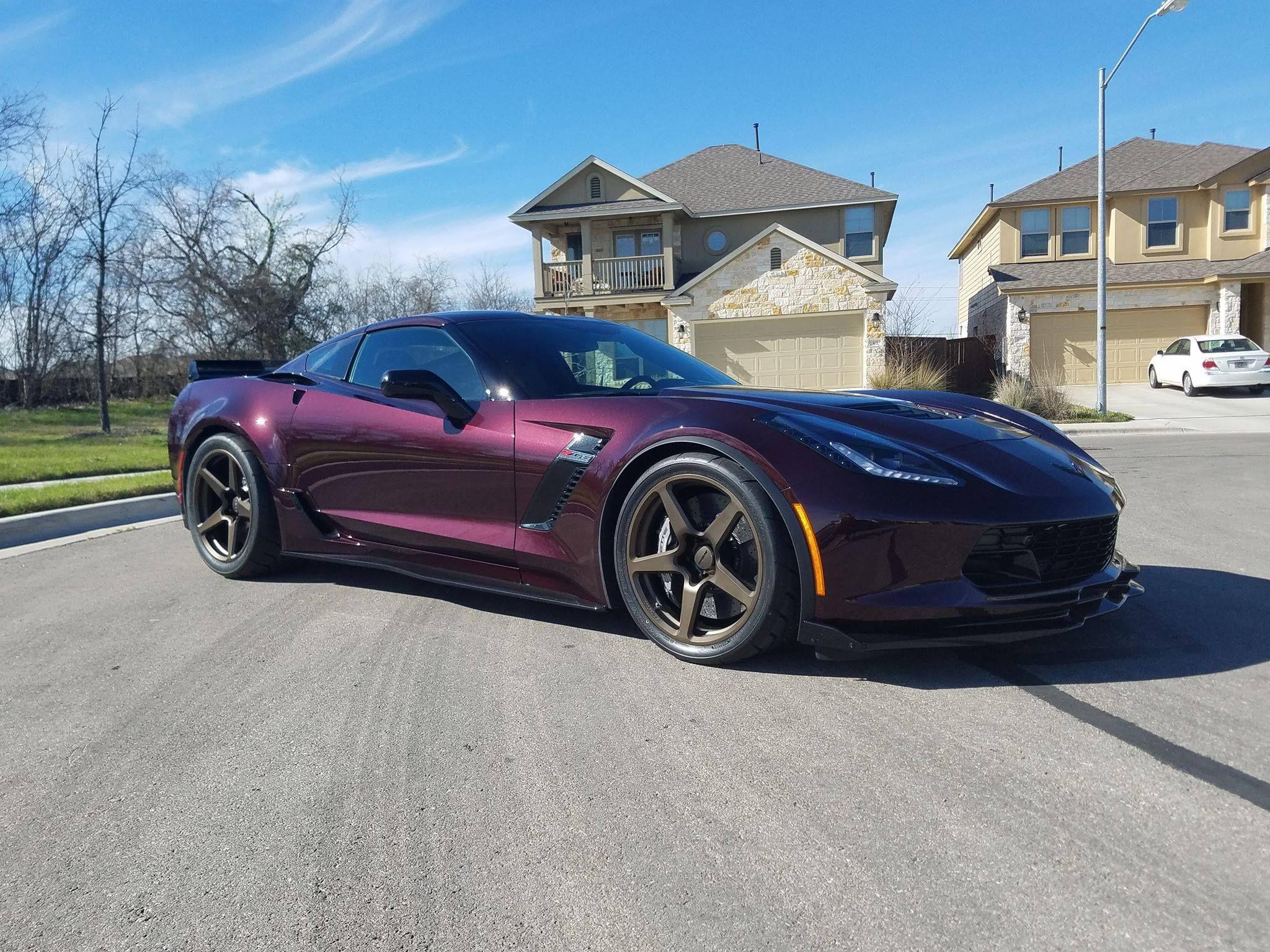 Chris neal s latest toy is this black rose c7 corvette z06 z07