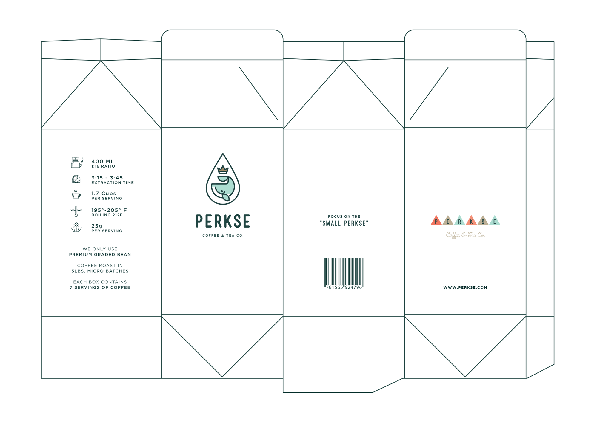 Dribbble Perkse Coffee Box Template Png By Salih