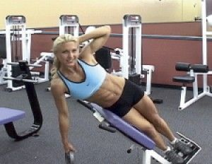 - This is my favorite oblique exercise. Done on the Roman ...