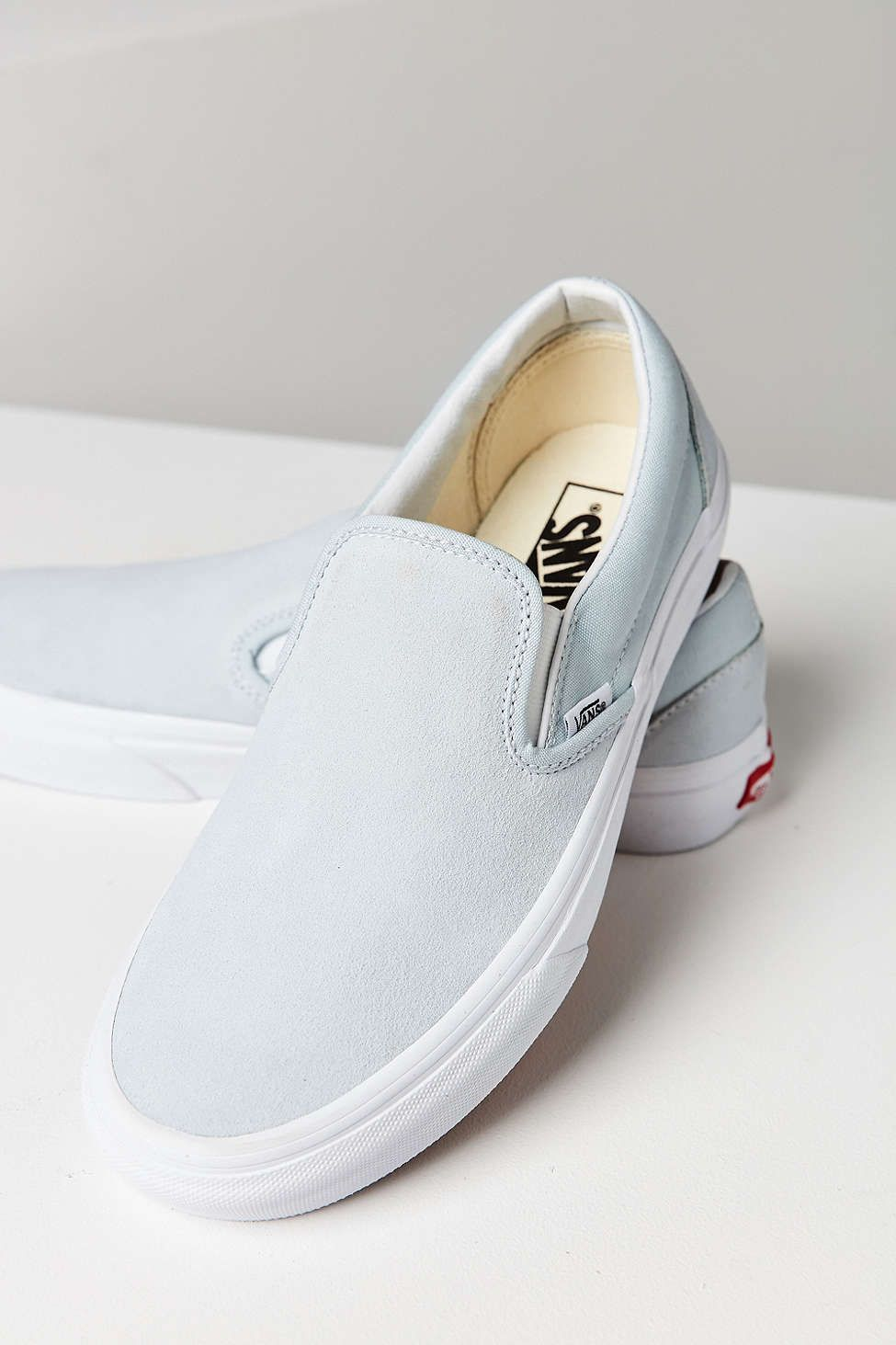 af3df2ea547 vans pastel suede slip-on sneakers