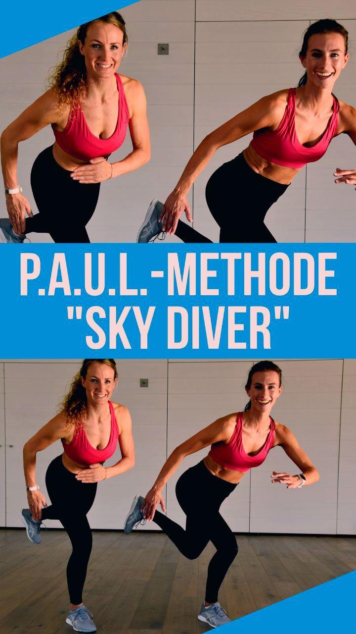 Diese Trainings-Methode P.A.U.L. steht für ein schnelles 10-minütiges Workout, das du ganz einfach z...