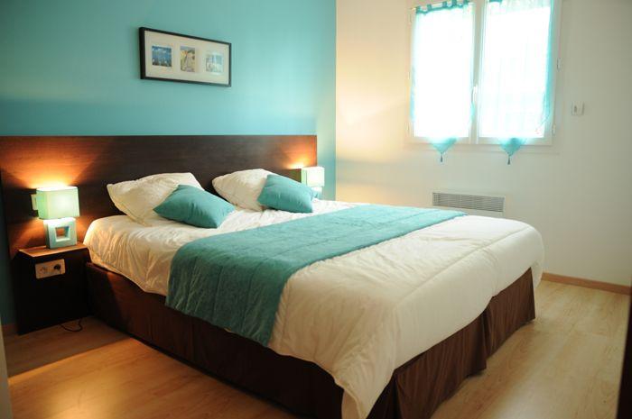 chambre turquoise gris - Recherche Google | Idées chambre | House ...