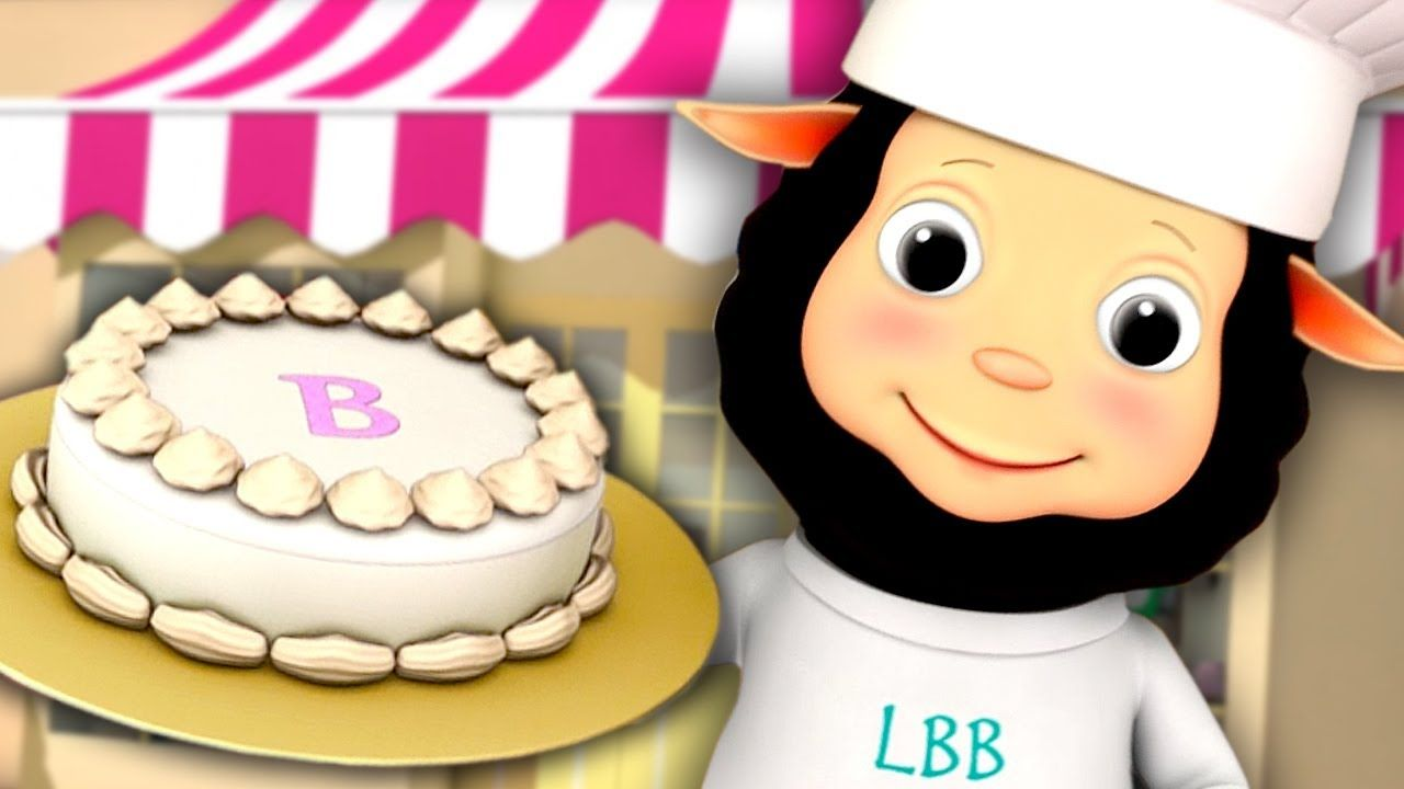 Pat A Cake Nursery Rhyme With Lyrics 3d Animation In Hd From Littleb Nursery Rhymes Kids Songs Cake Song