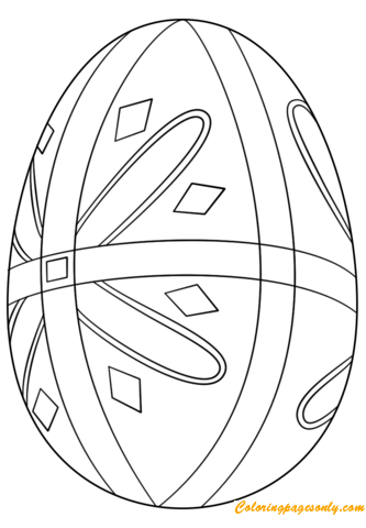 ukrainian pysanka easter eggs coloring page coloring pages for kids and adults we are happy to bring a new game from easter eggs category for you