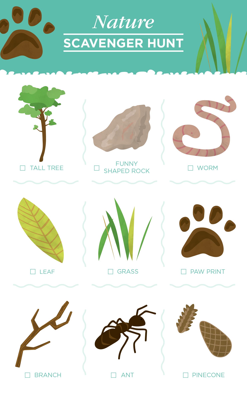 10 Free Scavenger Hunt Printables For Kids