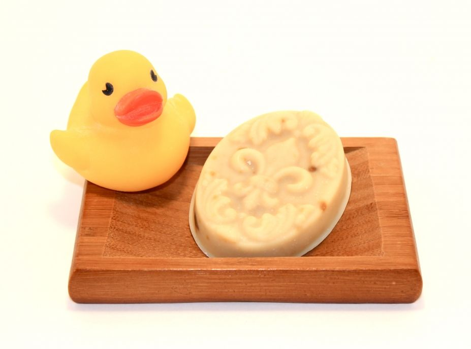 Calming Baby Soap - Natural Handmade Soap - fleur de lis