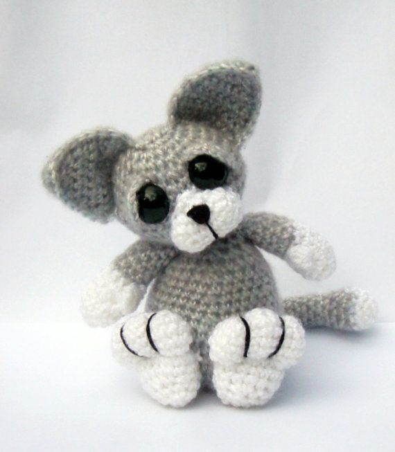 Kitten Cat Amigurumi Crochet Pattern PDF by PatchworkMoose ...