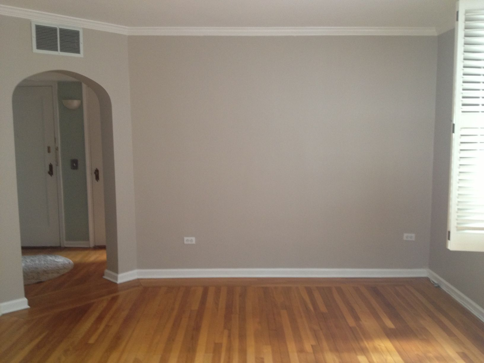 Farbe Küchenwand Benjamin Moore Smokey Taupe Design Wall Paint Zimmer