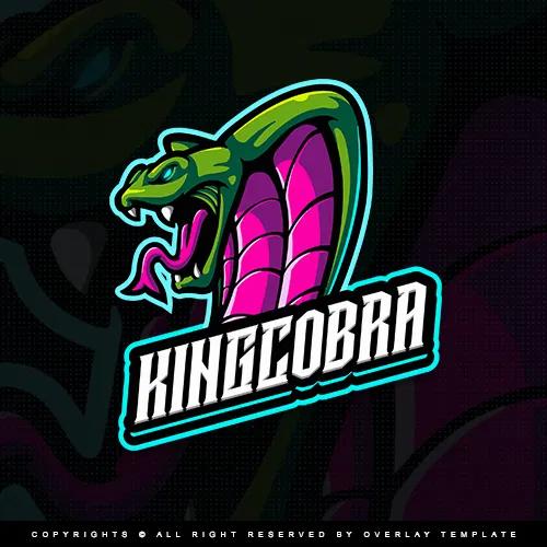 Kingcobra Logo Overlaytemplate Logos Overlays Channel Branding