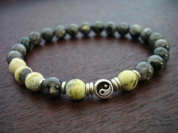 Bracelet pierre de lune pour homme
