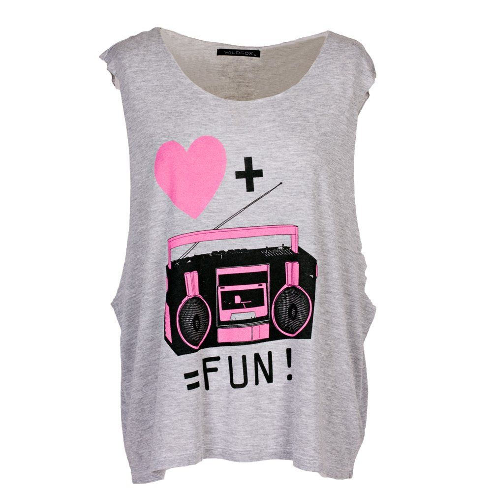 tank tops | Home › Womenswear › Tops › Wildfox Ghetto Blaster ...
