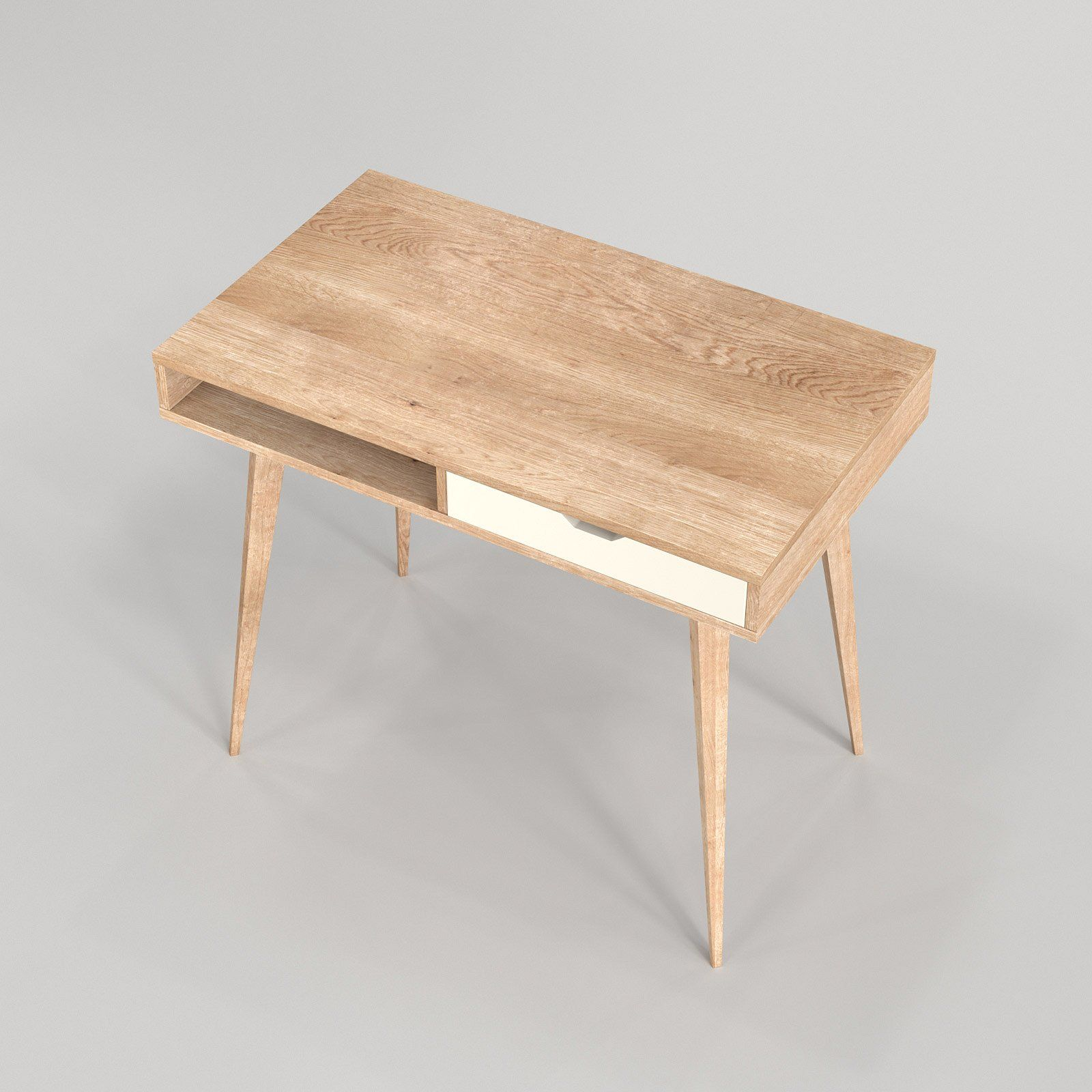 Scandinavian Desk 04 Scandinavian Desk Scandinavian